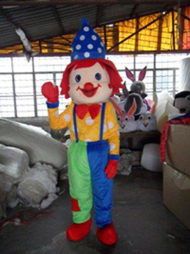 Clown Costumes Cartoon Doll Clothing Clown Show Performance Clothing Mascot Costume