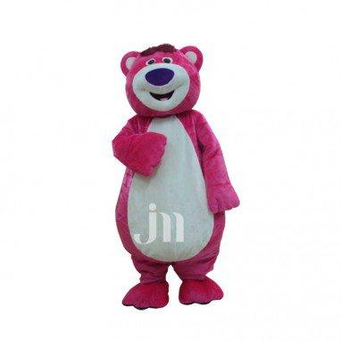 Little Pink Bear Walking Doll Cartoon Clothing Cartoon Dolls Plush Doll Clothing Cartoon Show Mascot Costume