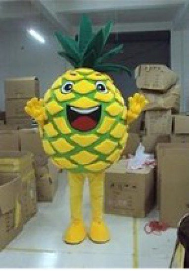 Pineapple Fruit Cartoon Props Props Walking Cartoon Doll Clothing Cartoon Clothing Cartoon Dolls Dolls Clothes Mascot Costume