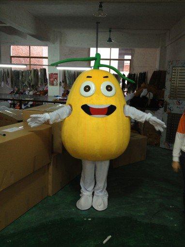 Pomelo Grapefruit Fruit Cartoon Clothing Performance Clothing Props Pomelo Oranges Walking Doll Clothing Doll Clothing Mascot Costume
