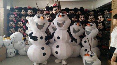 Snow Treasure Cartoon Doll Clothing Cartoon Costumes Show Performances Clothing Mascot Costume