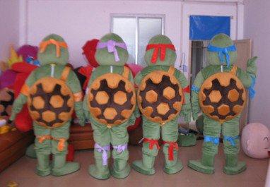 Teenage Mutant Ninja Turtles Cartoon Dolls Performance Apparel Clothing Costumes Show Mascot Costume