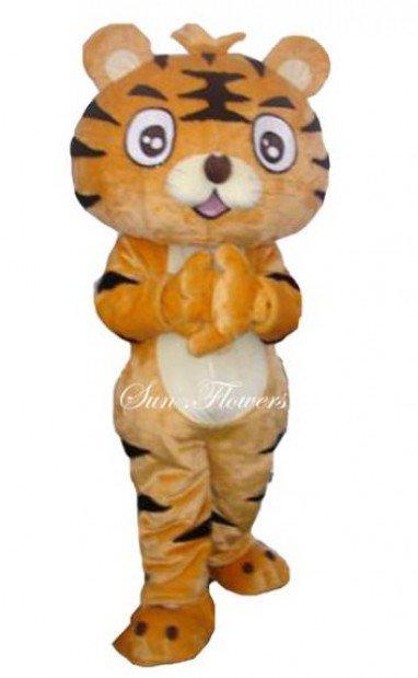 Tiger Cartoon Clothing Cartoon Costumes Cartoon Cartoon Props Wedding Cartoon Engage in Activities Mascot Costume