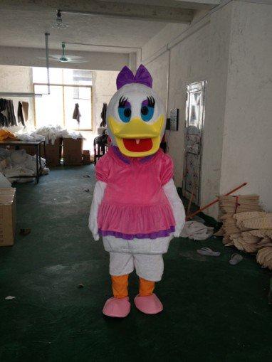 Donald Duck Cartoon Costumes Perform Performance Apparel Clothing Cartoon Donald Duck Cartoon Duck Paradise Mascot Costume