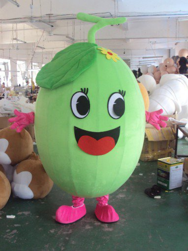 Fruits and Vegetables Cantaloupe Melon Walking Cartoon Dolls Cartoon Clothing Costumes To Promote Its Performances Costumes Mascot Costume