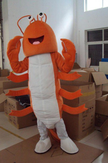 Seafood Cartoon Doll Clothing Cartoon Show Cartoon Dolls Doll Dolls Large Props Lobster Mascot Costume