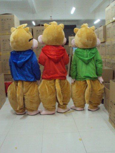 Adult Walking Cartoon Dolls Clothes Props Squirrel Chipmunk Doll Clothes Elf Costume Mascot Costume