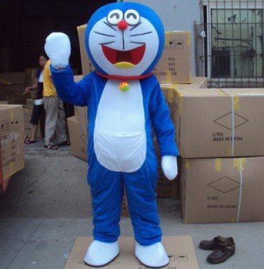 Doraemon Cat Doraemon A Dream Cartoon Walking Doll Clothing Performance Props Adult Clothing Pocket Cat Mascot Costume