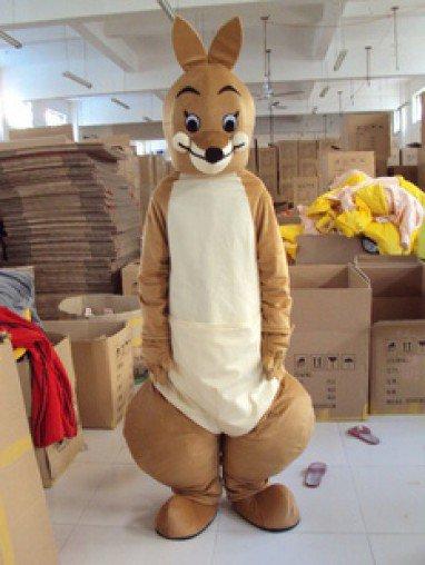 Adult Cartoon Clothing Can Wear People Walking Performances Doll Proboscis Kangaroo Animal Doll Clothes Caps Mascot Costume