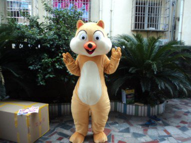 Cartoon Doll Doll Large Doll Wearing People Walking Activity Adult Costumes Performing Small Squirrel Animal Headgear Mascot Costume