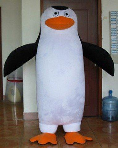 Custom Cloth Plush Toys Madagascar Penguin Puppet Giraffe Melman Doll Clothing Mascot Costume