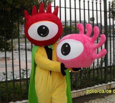 National Day Mascot Costume Adult Cartoon Dolls Walking Cartoon Costumes Performing Enterprises Logo Signs