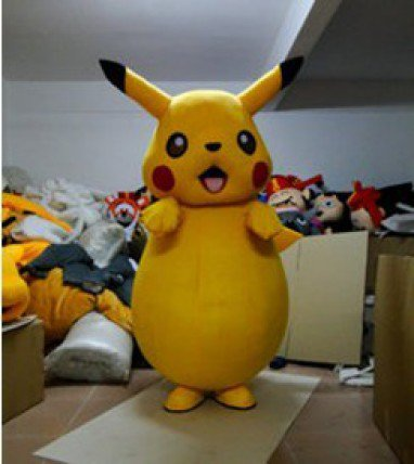 People Wear Costumes Dolls Activity Adult Walking Cartoon Doll Clothing Pikachu Toys Clothing Mascot Costume