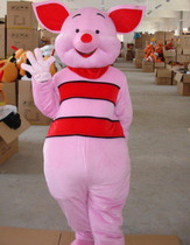 Adult Male Piglets Walking Cartoon Doll Clothing Props Sam Soon Pig Piglet Plush Toys Mascot Costume