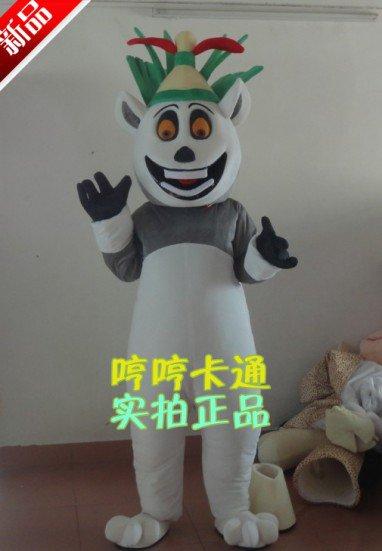 Cartoon Doll Clothing Props Madagascar Lemur Plush Doll Clothes Zebra Lion Hippo Mascot Costume