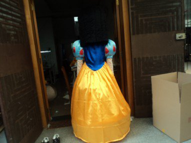 Cartoon Doll Clothing Walking Cartoon Child Adult Costume - Snow White and The Dwarfs Mascot Costume