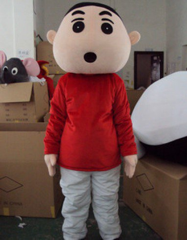 Crayon Cartoon Character Chibi Maruko Cartoon Doll and Clothing People Wear Costumes Walking Doll Mascot Costume