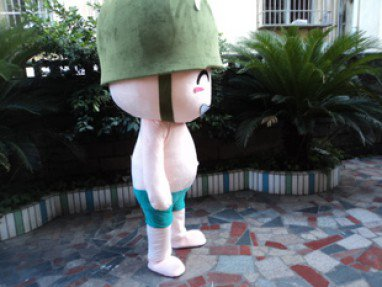 Cartoon Doll Clothing Walking Cartoon Props Child Adult Clothing Wink Soldiers Performing Cannon Artillery Mascot Costume