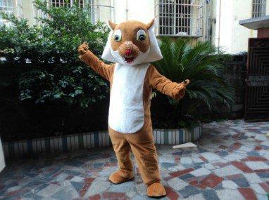 Cartoon Doll Clothing Walking Cartoon Doll Performances Activities Baowang Rat Squirrel Costumes Mascot Costume