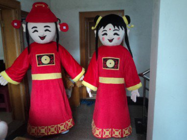Doll Doll Clothing Cartoon Costumes Mascot Costumes For Adults Traveling Performers Grade Mary