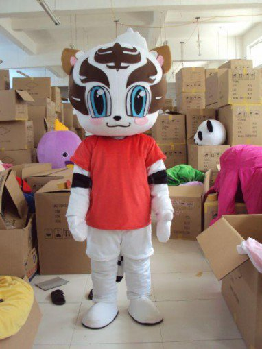 Zodiac Animal Tiger Plush Doll Clothing Cartoon Mascot Costume Props Activities Obediently Tiger