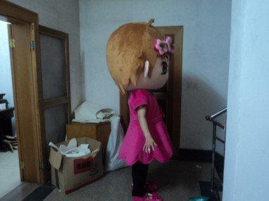 Buka Pass Adult Walking Doll Clothing Doll Clothing Cartoon Show Little Girl Ayumi Mascot Costume
