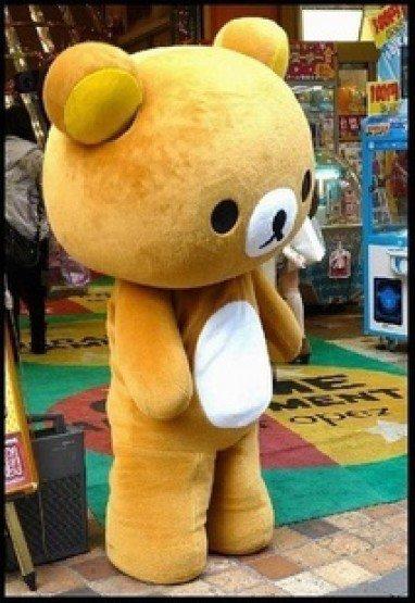 Cartoon Doll Clothing Cartoon Show Props Apparel Adult Diffuse Easily Bear Easily Bear Dolls Advertising Mascot Costume