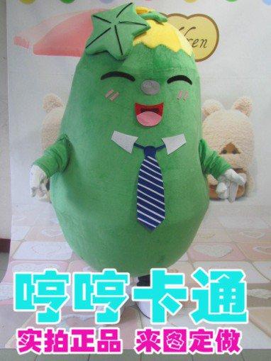 Cartoon Doll Clothing Performances Props Propaganda Cartoon Mascot Costume Doll Clothes Melon Clothes Clothes