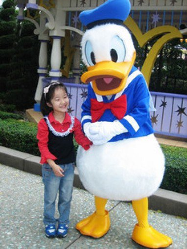 Cartoon Doll Clothing Walking Cartoon Doll Clothing Performances Props Festive Opening of Donald Duck Mascot Mascot Costume