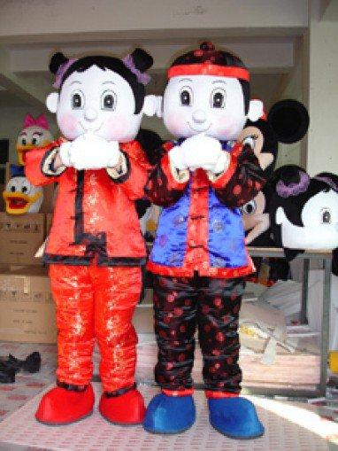 Cartoon Show Props Cartoon Mascot Plush Doll Clothing Jintongyunv Advertising Mascot Costume