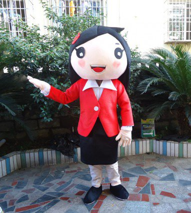 Character Spokesperson Doll Clothing Cartoon Clothes Clothes Leotard People Lead Suit Mascot Costume