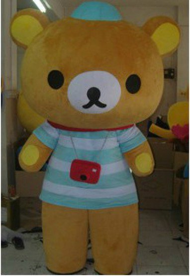 Cartoon Doll Clothing Cartoon Clothing Cartoon Show Props Apparel Adult Adult Modeling Clothes Easily Bear Mascot Costume