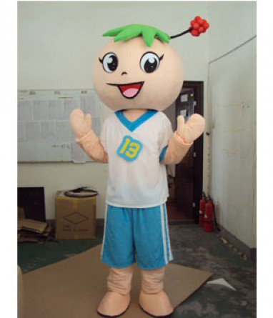 Cartoon Fashion Show Props Stage Costume Dolls Surrounding Animation Cartoon Characters Mascot Costume