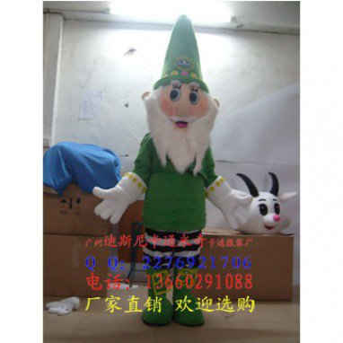 Christmas Santa Claus Costume Halloween Costume Cartoon Costume Dolls Dance Clothing Christmas Service Mascot Costume