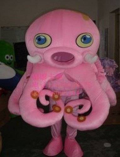 Marine Animals Cartoon Octopus Cartoon Dolls Doll Clothing People Wear Octopus Mascot Costume