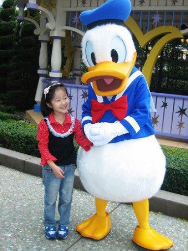 Donald Duck Cartoon Costumes Opening Ceremony Clothing Apparel Promotional Advertising Dolls Walking Cartoon Mascot Costume