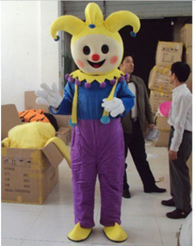 Adult Clothing Walking Cartoon Cartoon Clown Cartoon Clown Costume Props Mascot Costume