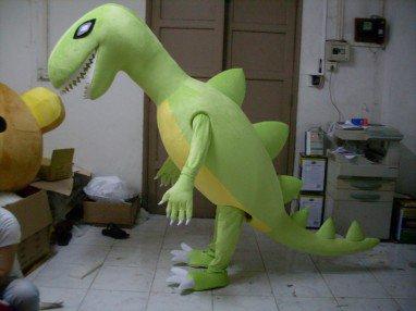Adult Clothing Walking Cartoon Cartoon Show Clothing Dinosaur Dinosaur Activity Mascot Costume