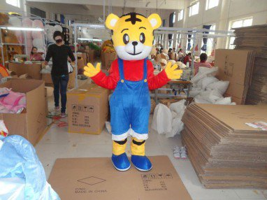 Adult Walking Performance Radiant Film and Television Animation Cartoon Tiger Costume Tiger Costumes Mascot Costume