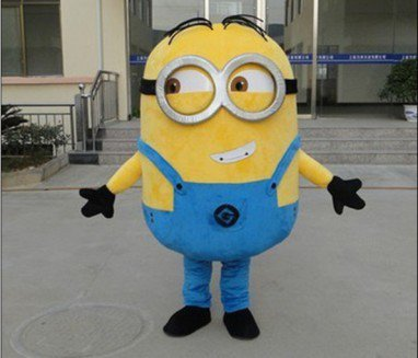 Despicable Me Despicable Me Little Yellow Man Cartoon Clothing Cartoon Walking Doll Huang Doudou Mascot Costume