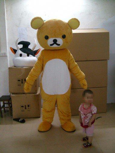Easily Bear Cartoon Clothing Cartoon Costumes Cartoon Doll Performances Clothing Props Head Easily Bear Mascot Costume