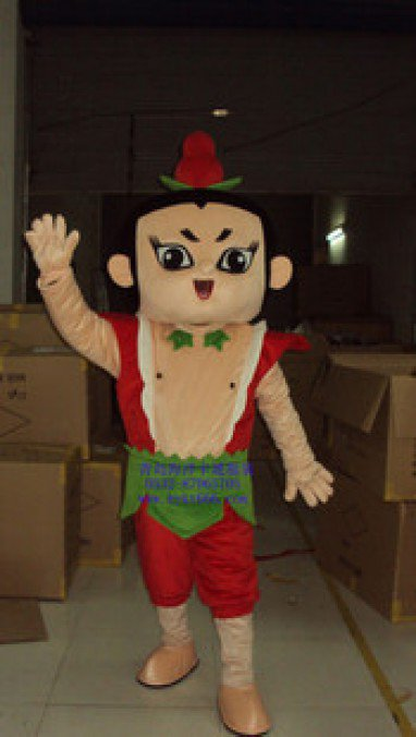 Gourd Seven Brothers Movie Cartoon Clothing Gourd Cartoon Costumes Performing Props Mascot Costume