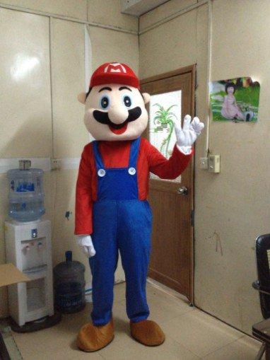 Grade Mary Cartoon Clothing Cartoon Walking Doll Clothing Mario Theatrical Performances Advertising Mascot Costume
