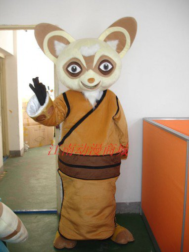 Kung Fu Panda Cartoon Clothing Film and Television Animation Props Master Rat Saliva Doll Clothing Mascot Costume