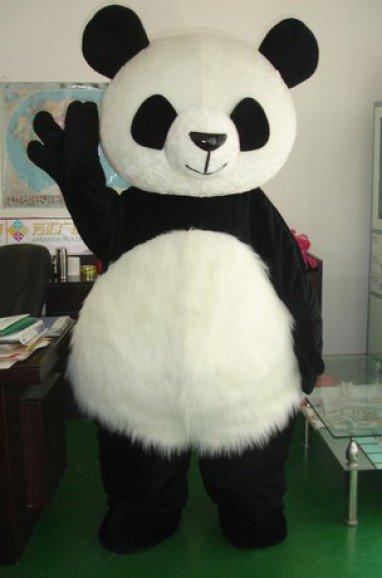 Panda Cartoon Clothing Cartoon Walking Doll Cartoon Costumes Stage Performance Props David Panda Mascot Costume