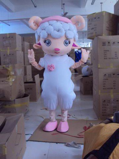 Radiant Film and Television Animation Cartoon Costume Props Ball Pleasant Dolls Cartoon Clothing Cute Sheep Mascot Costume