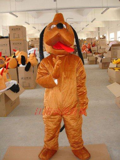 Adult Clothing Walking Cartoon Doll Clothing Hey Dog Zodiac Dog Mascot Costume