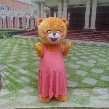 Bear Cartoon Doll Clothing Cartoon Walking Doll Clothing Cartoon Show Clothing Doll Clothes Advertising Mascot Costume