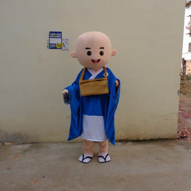 Cartoon Doll Clothing Cartoon Walking Doll Clothing Cartoon Show Clothing Doll Clothes Monk Mascot Costume
