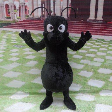 Cartoon Doll Clothing Cartoon Walking Doll Clothing Doll Clothing Cartoon Props Black Ants Mascot Costume